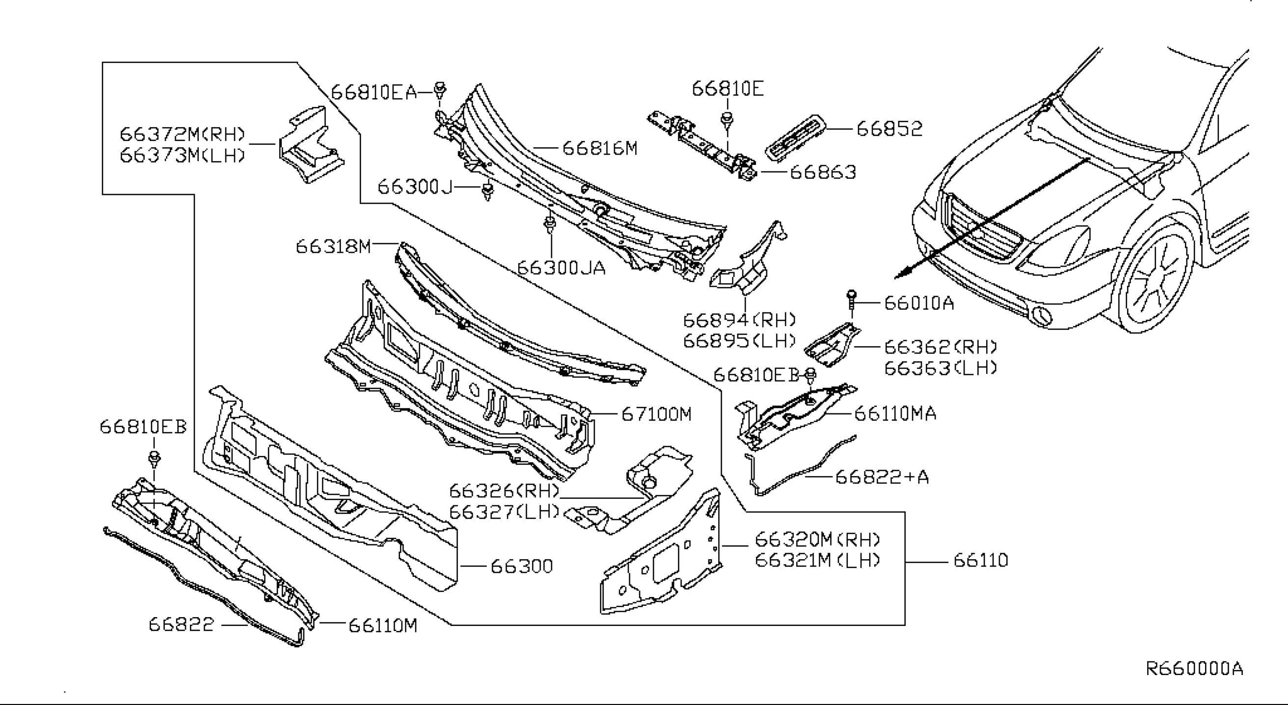 Nissan Altima 2 5 Engine Diagram Nissan Altima Parts