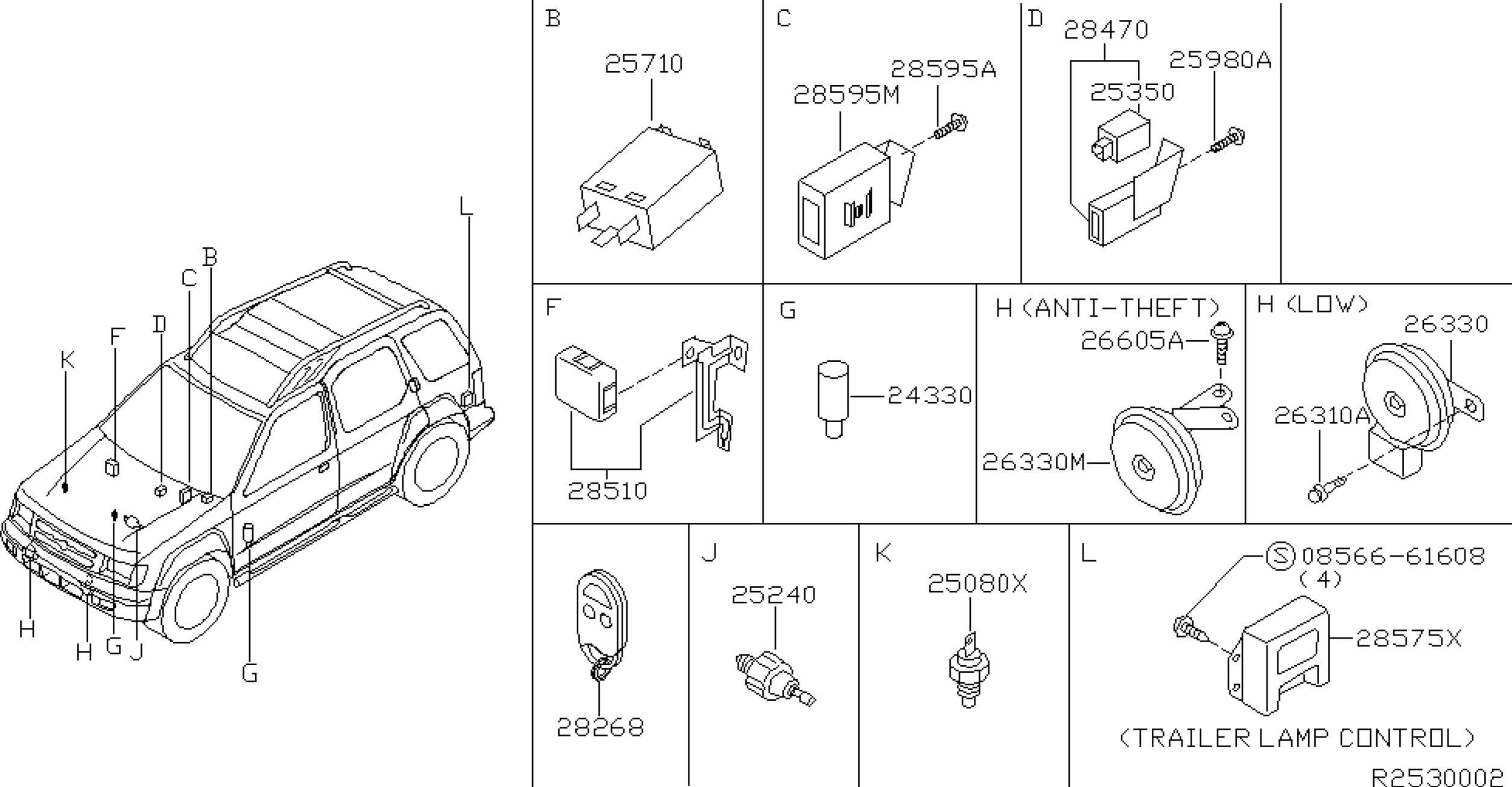 2006 nissan xterra parts diagram 3 phase hydro generator wiring engine
