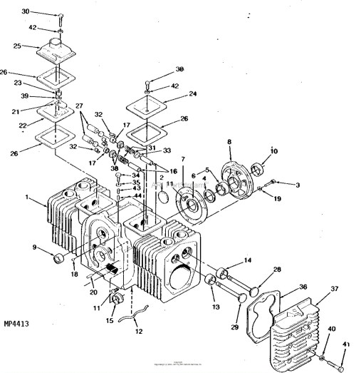 small resolution of onan engine parts diagram john deere parts diagrams john deere 317 hydrostatic tractor 17 hp of