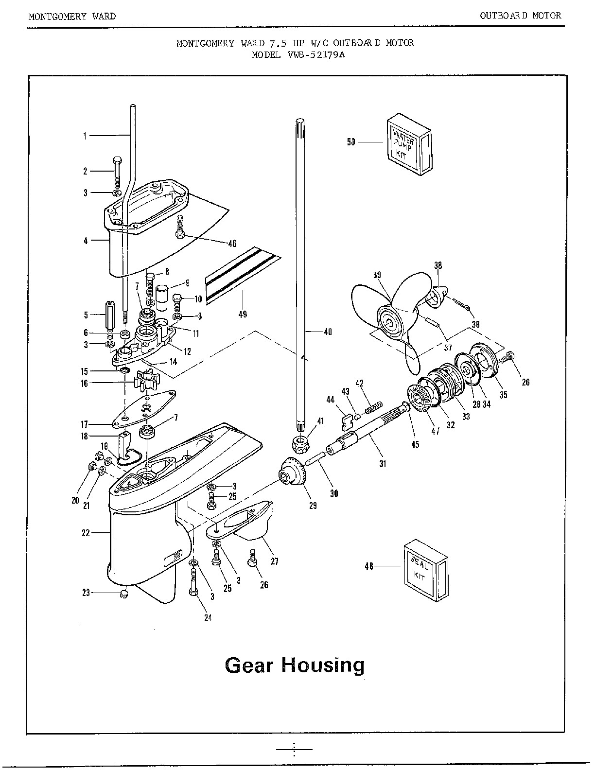 Johnson 70 Hp Outboard Motor Schematic