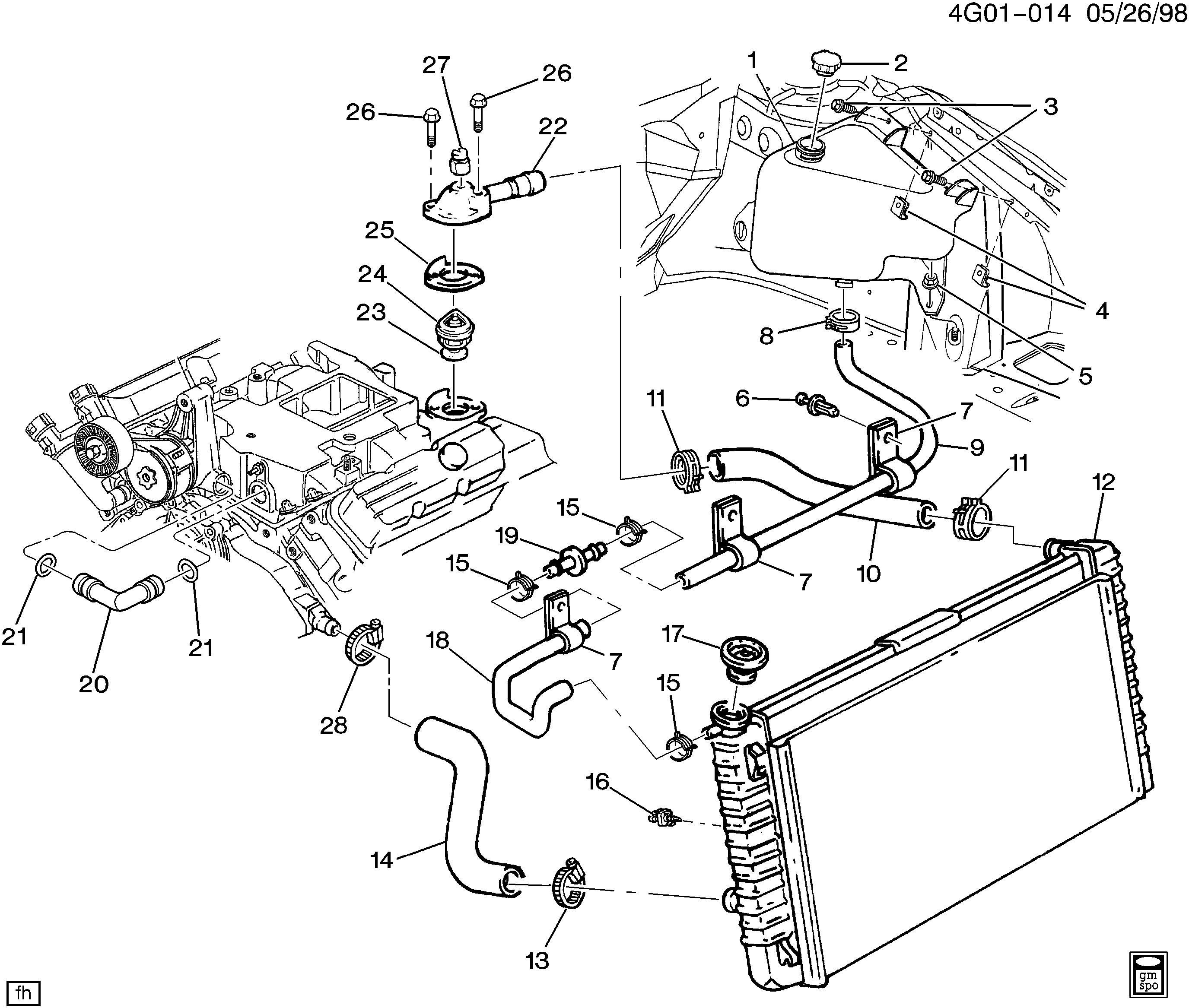 Diagram On Pontiac Bonneville 3800 Engine Diagram Get Free Image