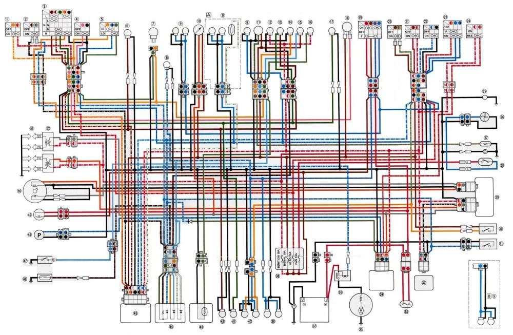 medium resolution of yamaha xj1100 wiring diagram wiring diagrams scematic yamaha seca wiring xj1100 wiring diagram