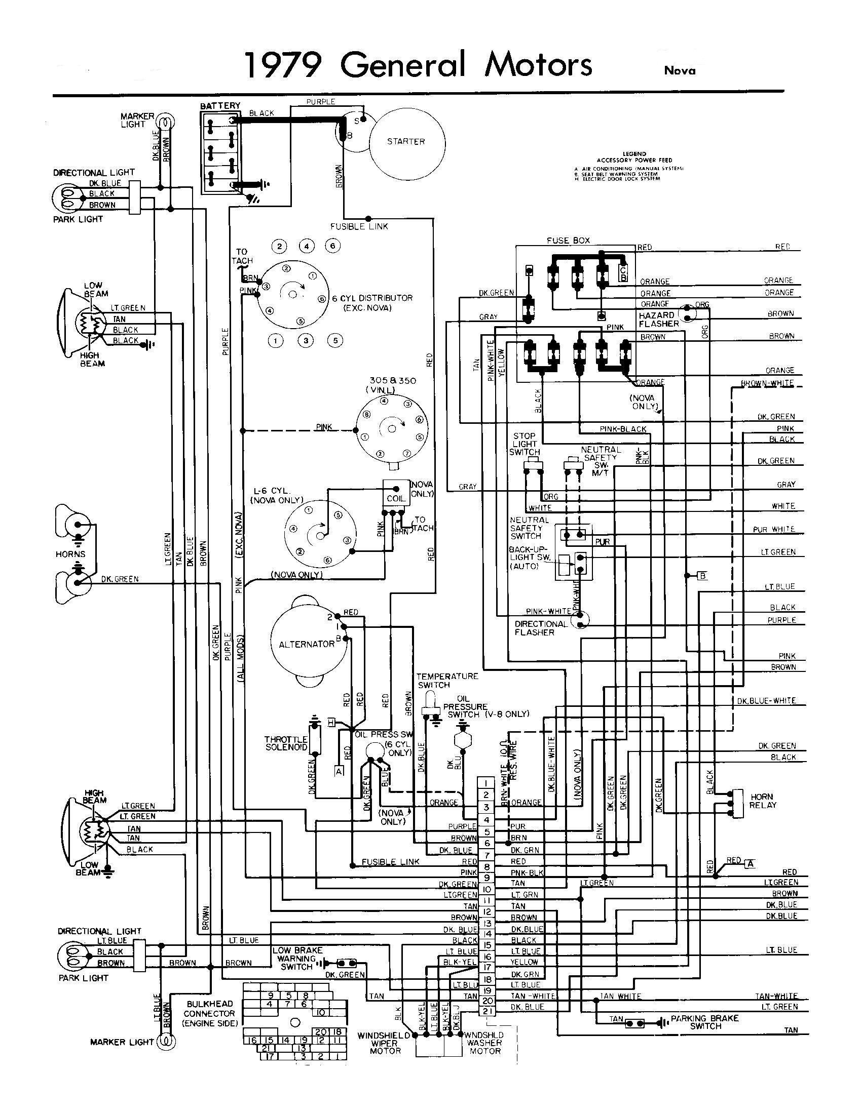 3 Wire Gm Alternator Wiring Diagram Chevy Nova