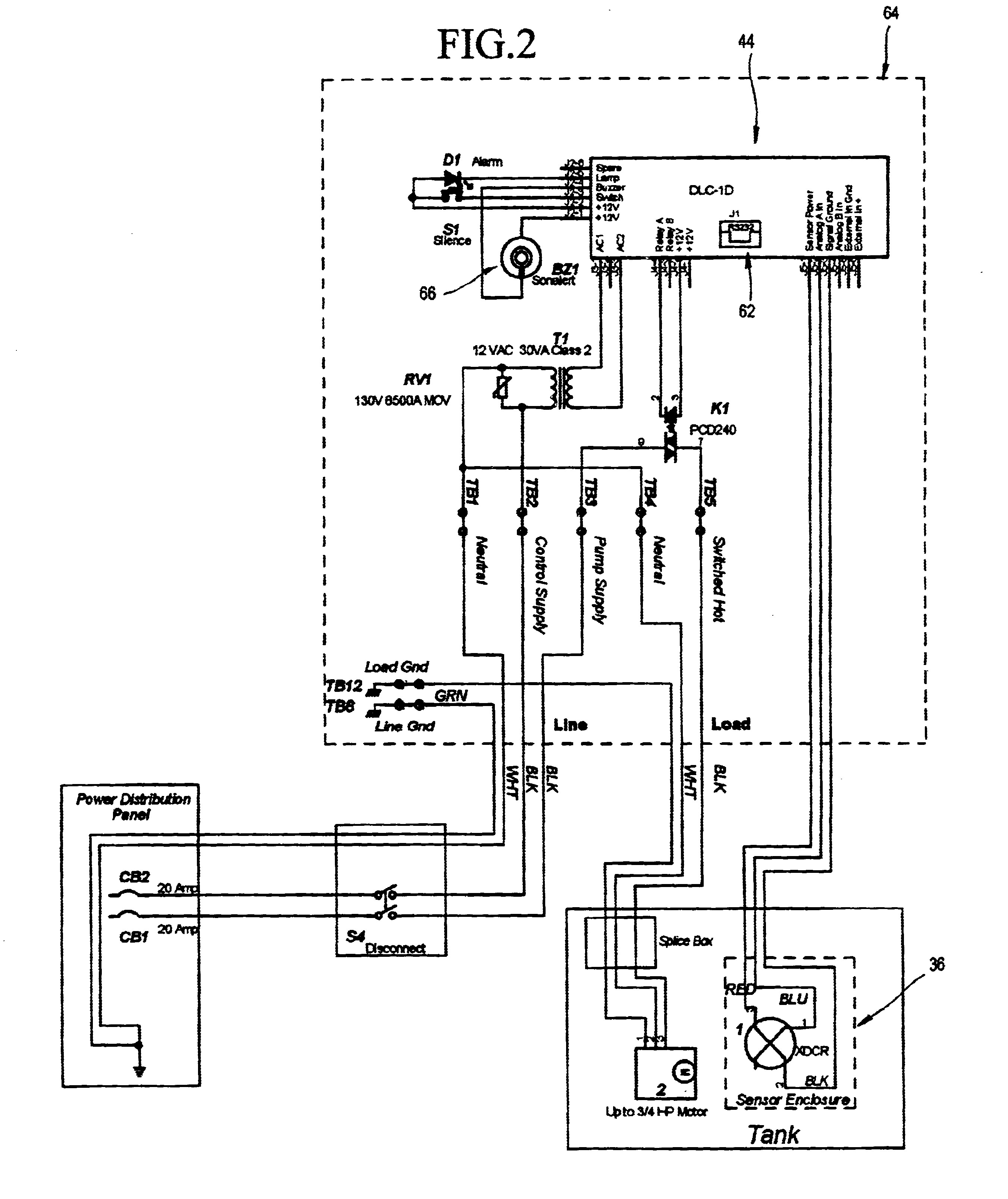 septic pump float switch wiring diagram 95 mustang 5 0 in tank system library