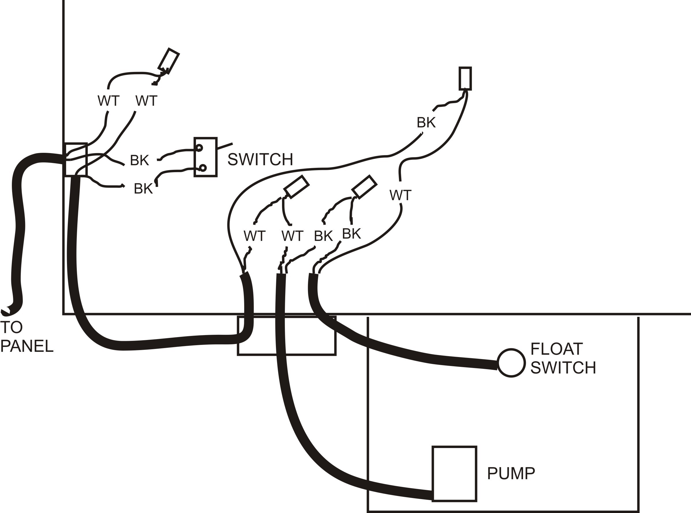 Septic Pump Wiring Diagram How to Wire A Septic Tank Pump