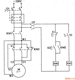 3ph motor forward and reverse control wiring schematics [ 1423 x 1535 Pixel ]