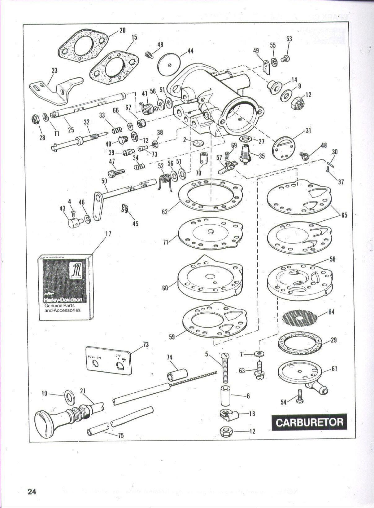 Small Engine Carburetor Diagram Harley Davidson Golf Cart