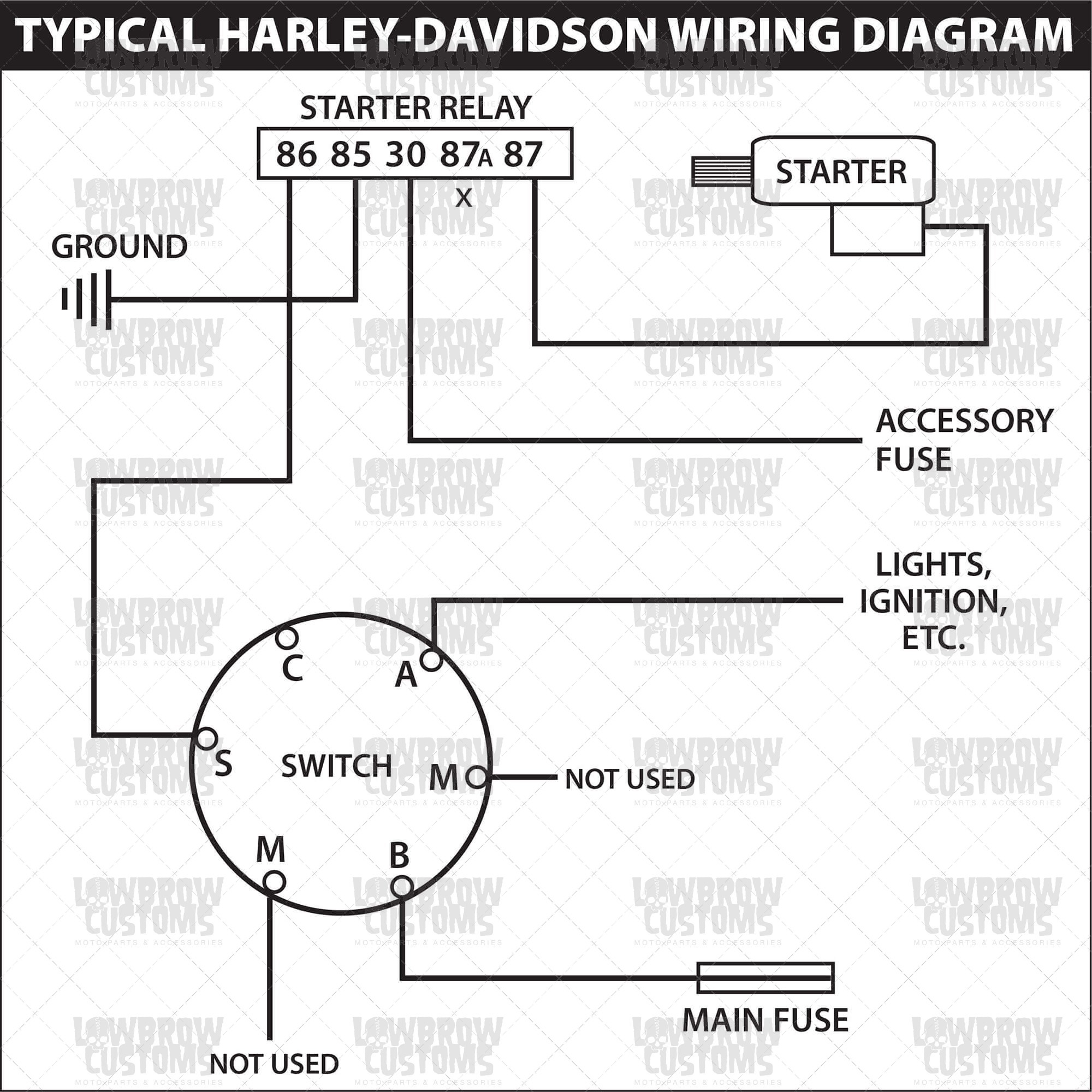 Small Engine Wiring Diagram