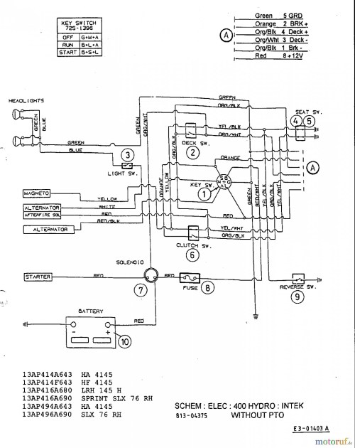 small resolution of snapper rear engine rider wiring diagram mtd riding mower