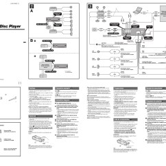 Wiring Diagram For Sony Xplod 52wx4 E46 Airbag Car Stereo