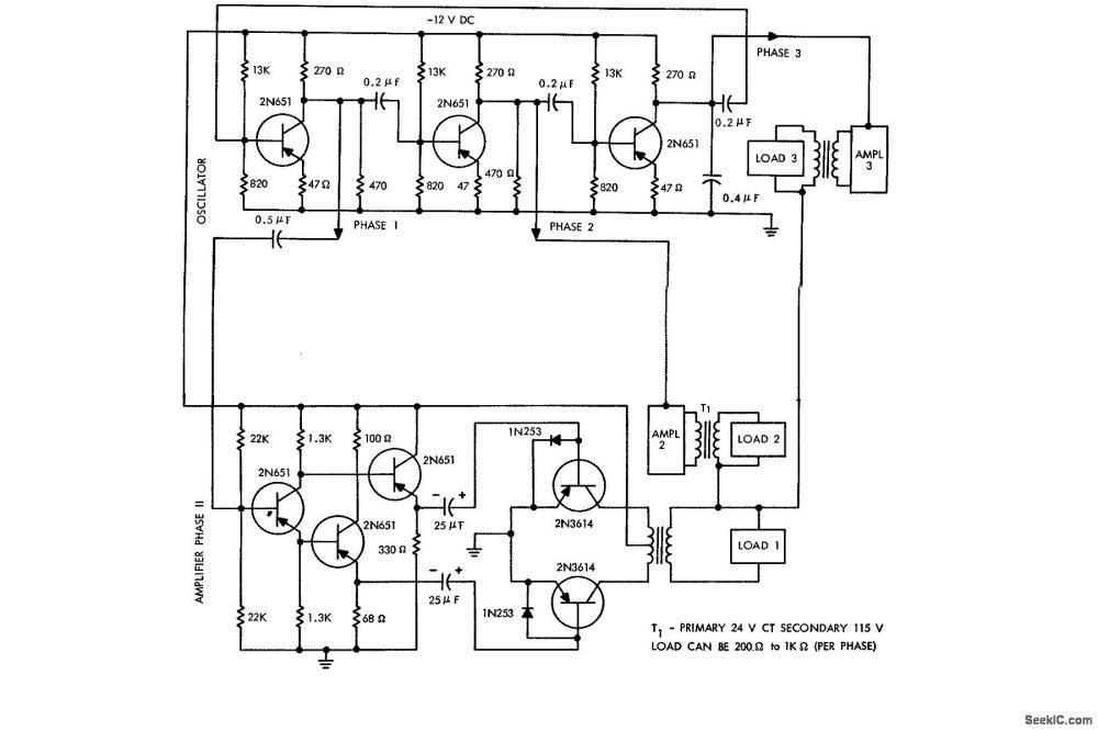 medium resolution of dc to phase ac inverter circuit diagram zen electrical diagram