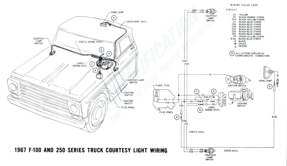 medium resolution of 1967 ford truck steering column wiring diagram wiring library 1971 ford f100 steering column wiring diagram
