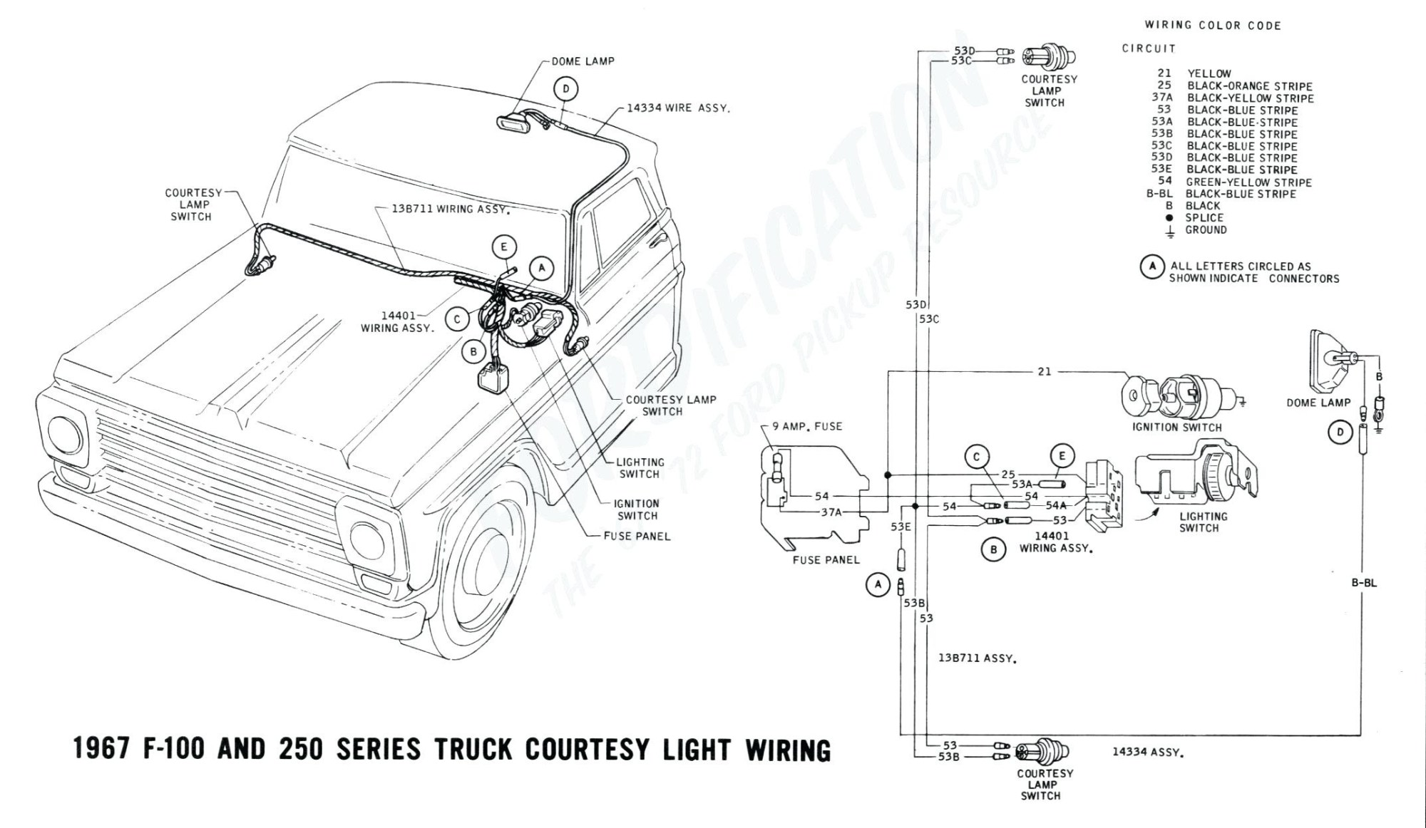 hight resolution of 1967 ford truck steering column wiring diagram wiring library 1971 ford f100 steering column wiring diagram