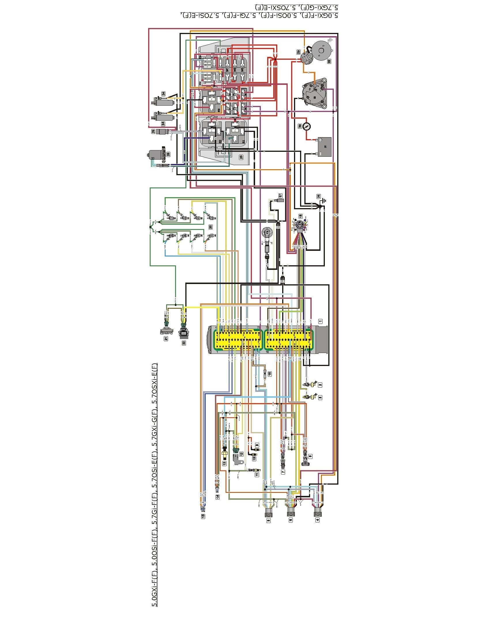 mercruiser 4 3 alternator wiring diagram 220v single phase transformer volvo penta library