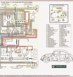 1971 vw super beetle ignition switch wiring diagram [ 1600 x 1447 Pixel ]