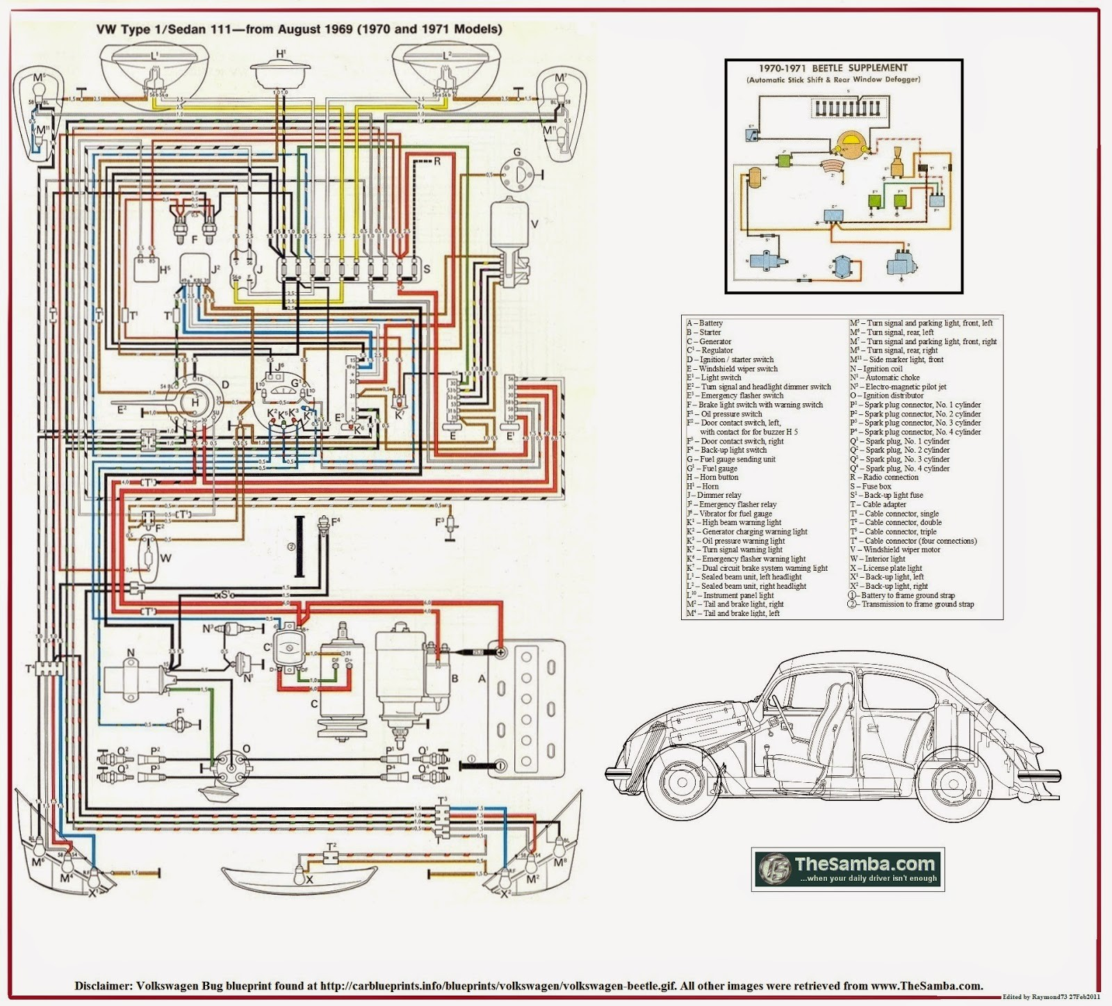 hight resolution of 1971 vw super beetle ignition switch wiring diagram