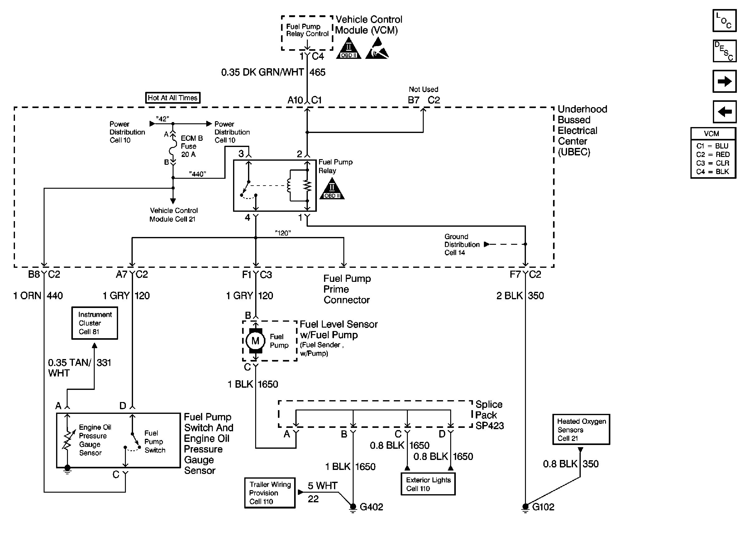 wiring diagram for fuel pump relay 7 round pin trailer with brakes electric harness best site