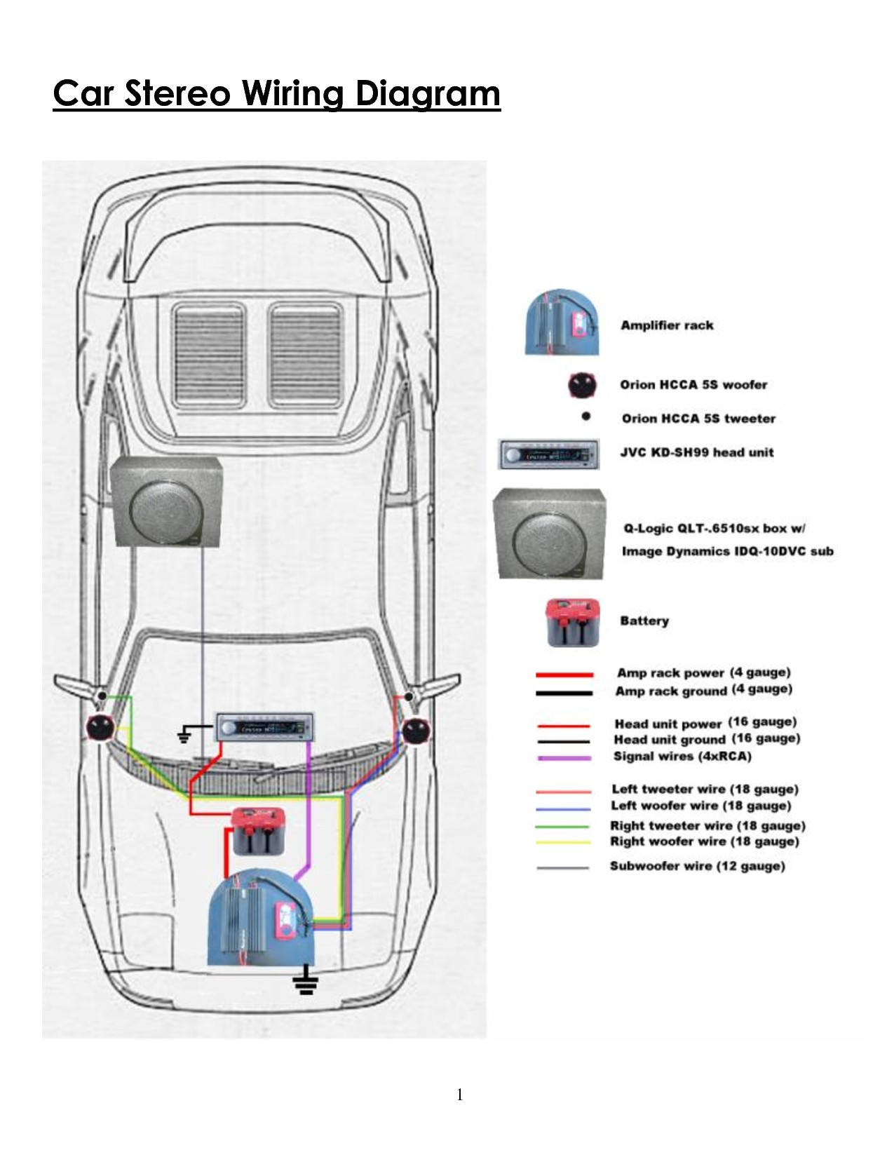 hight resolution of wiring diagram for car amplifier and subwoofer 2 svc 2 ohm mono low imp 1275 related post