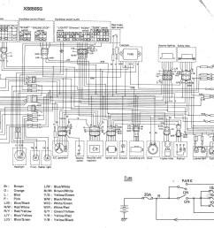 xj1100 wiring diagram [ 3010 x 2299 Pixel ]