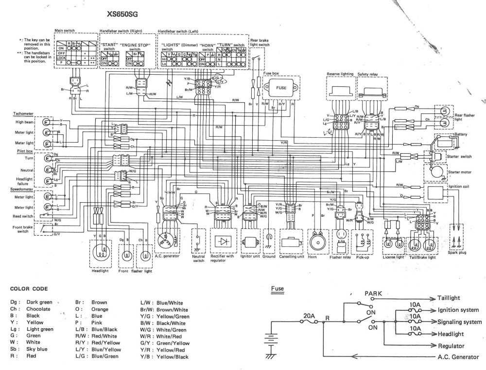 medium resolution of xj1100 wiring diagram