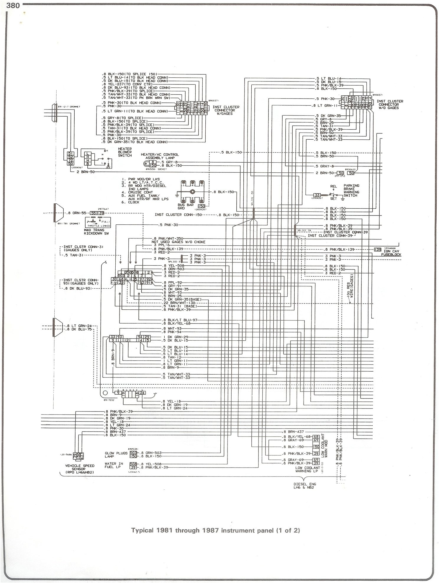 hight resolution of 87 chevy fuse diagram wiring diagrams konsult87 chevy fuse diagram wiring diagram centre 87 chevy fuse