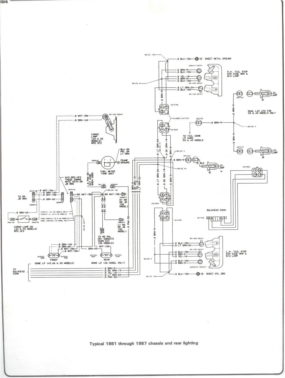 medium resolution of 1985 chevy 305 engine wiring diagram