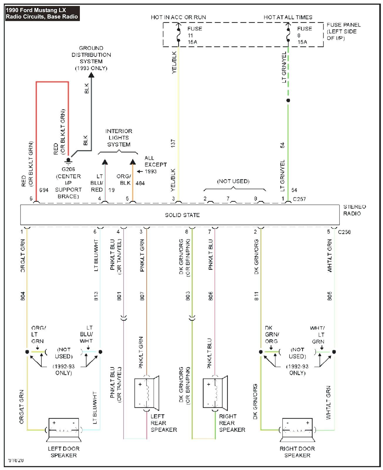 Also Ford Mustang Radio Wiring Diagram Furthermore Ford