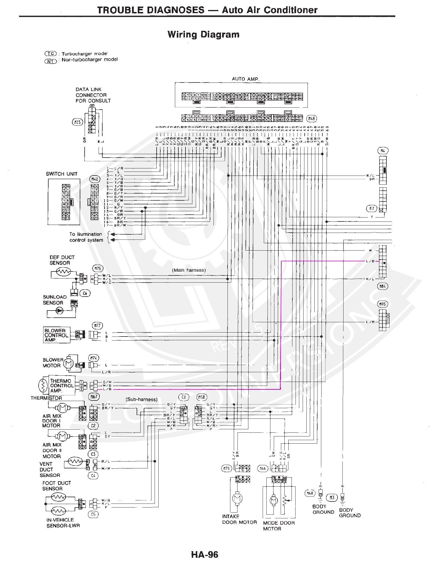 hight resolution of z31 engine wiring harness wiring library1990 nissan 300zx engine diagram nissan infiniti oem efi engine wiring