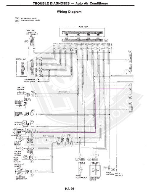 small resolution of z31 engine wiring harness wiring library1990 nissan 300zx engine diagram nissan infiniti oem efi engine wiring