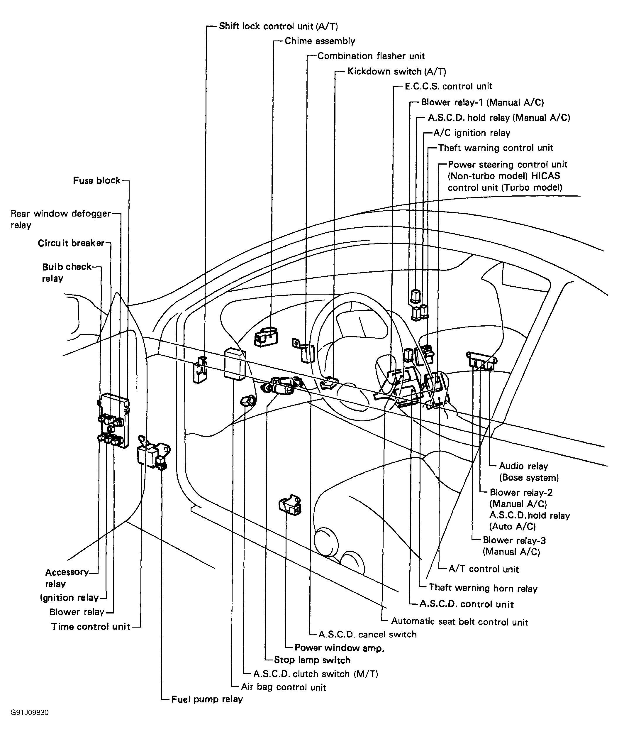 Frontier Stereo Wiring Diagram On Infiniti I30 Radio Wiring Diagram