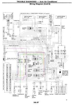 1987 Nissan Pickup Vacuum Hoses Diagram Wiring Schematic