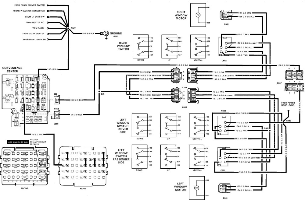 medium resolution of 1991 chevy truck wiring diagram 07 suburban blower motor wiring diagram wiring data of 1991 chevy