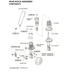 1997 toyota corolla engine diagram 1997 toyota camry engine diagram replacing the rear strut and or [ 2550 x 3280 Pixel ]