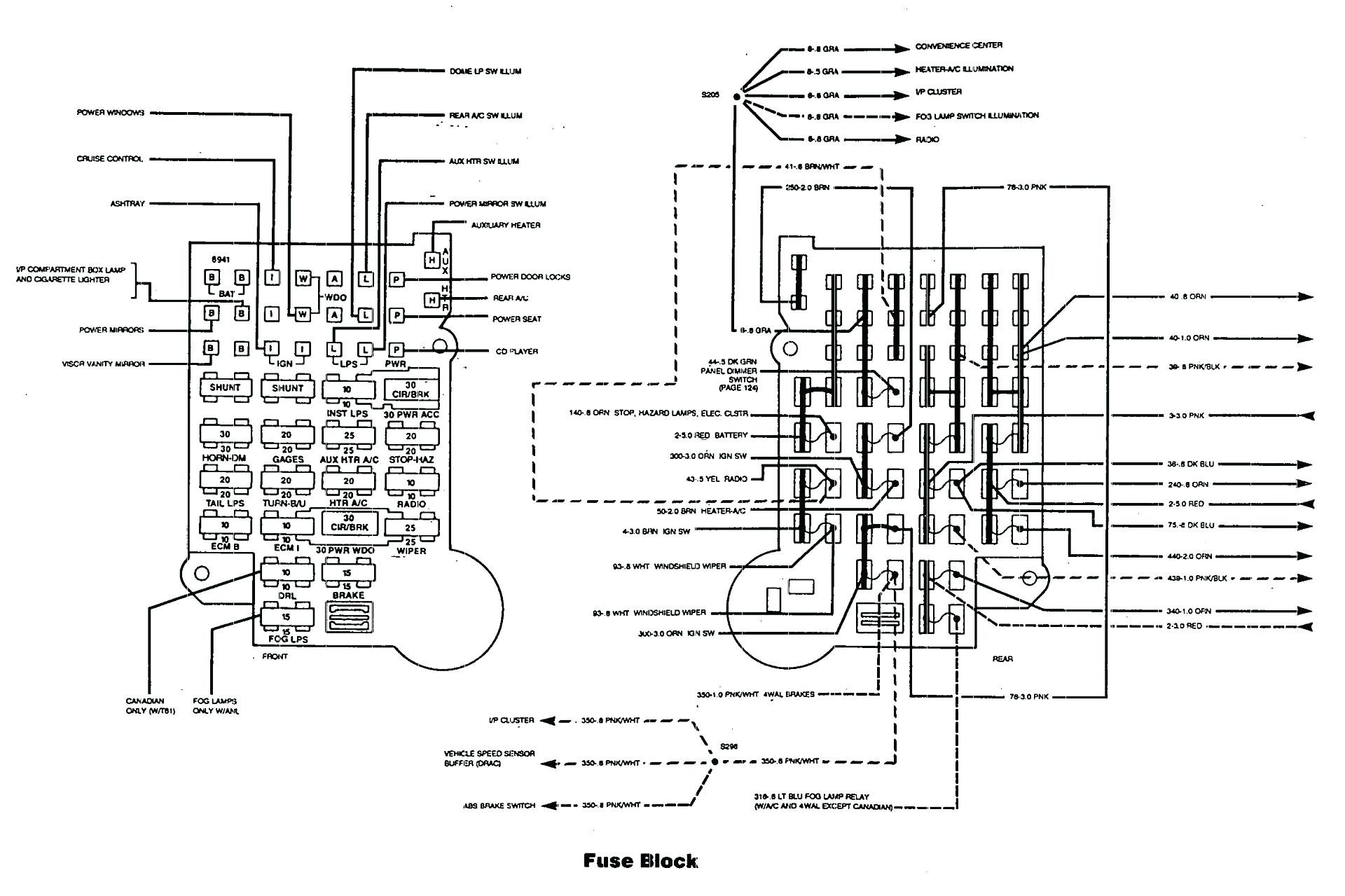 1998 ford Mustang Wiring Diagram 1998 Pontiac Grand Prix