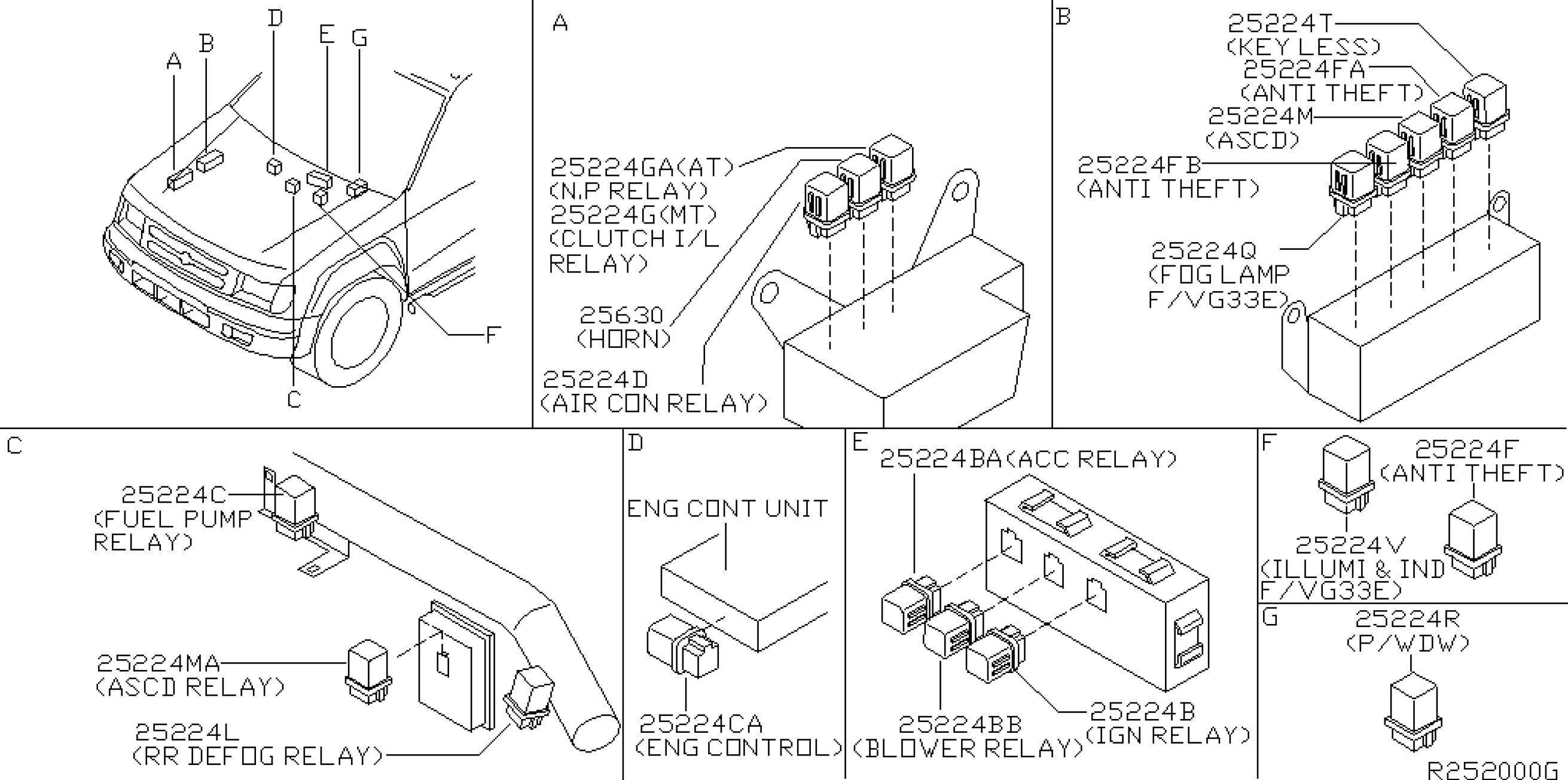 2000 nissan altima engine diagram basic 4 way trailer wiring xterra my