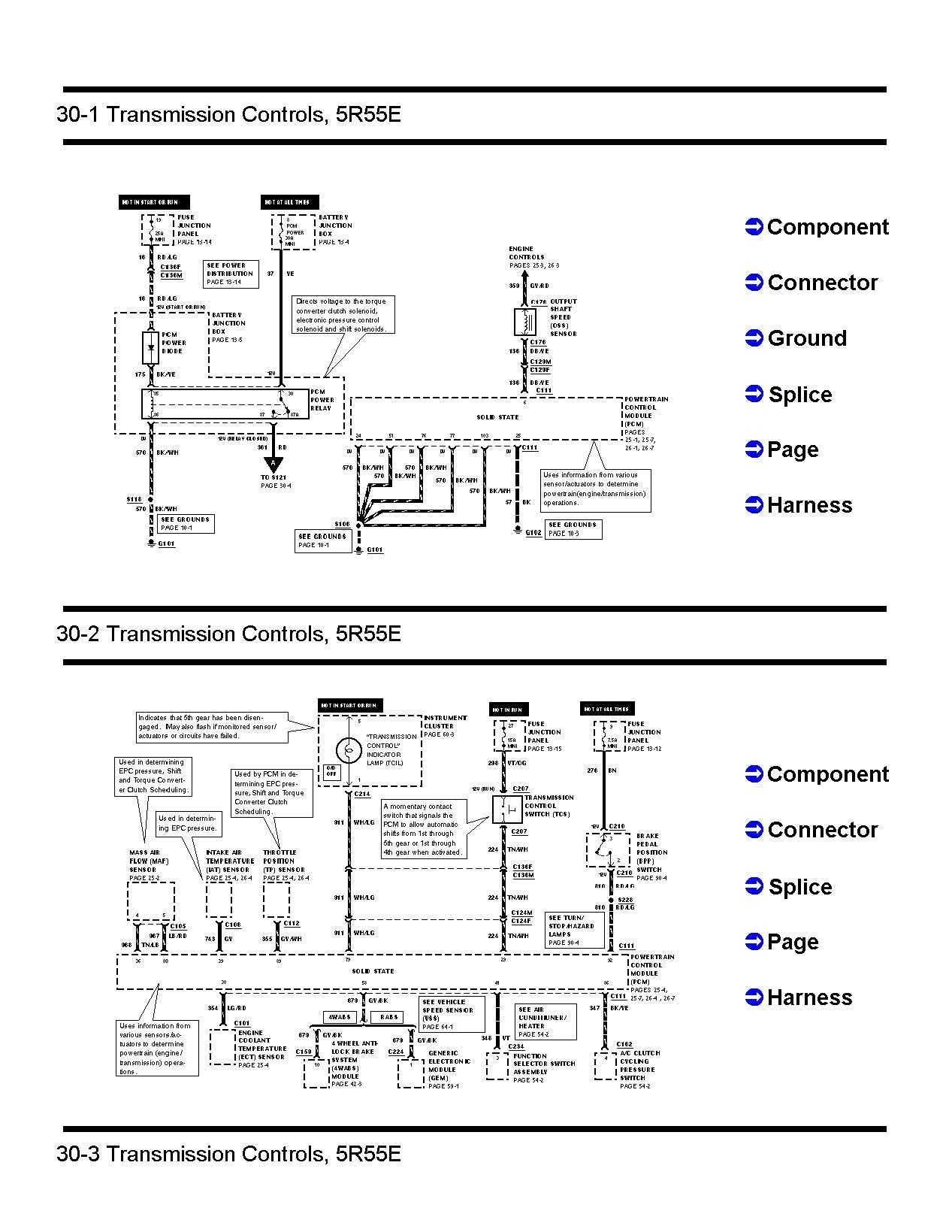 1995 ford ranger 2 3 wiring diagram simple doorbell circuit 2002 parts 5r55e