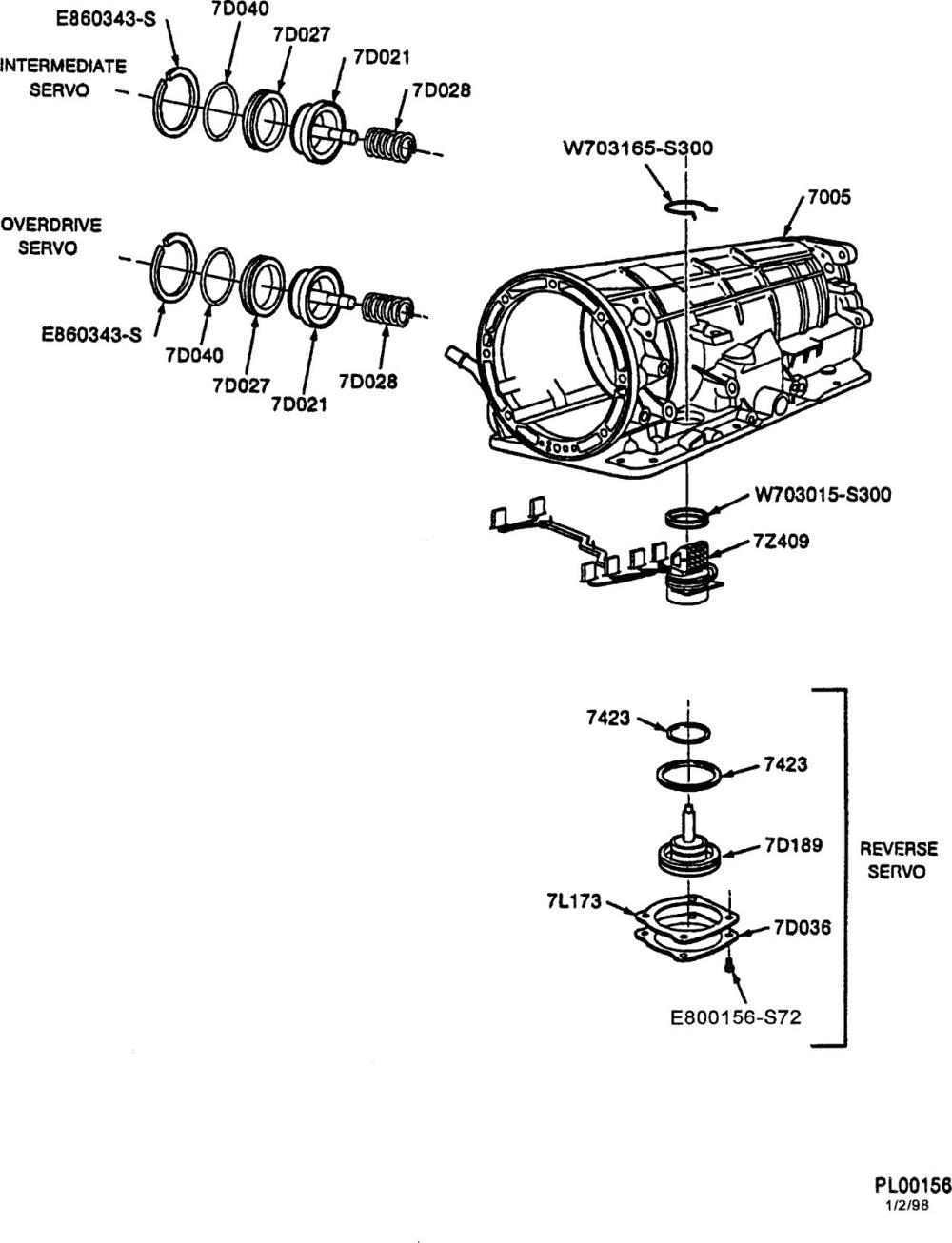 medium resolution of 2002 ford ranger parts diagram 4r70w transmission diagram wiring 1996 ford explorer transmission diagram 4r55e transmission
