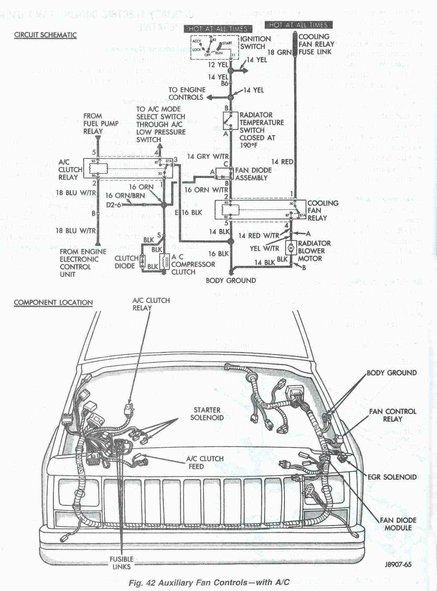 Wiring Manual PDF: 00 Jeep Cherokee Ignition Wiring Diagram