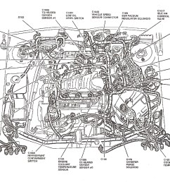 ford taurus heater hose diagram on hoses for 2000 ford taurus engine 2001 ford taurus engine diagram hoses [ 1718 x 1164 Pixel ]