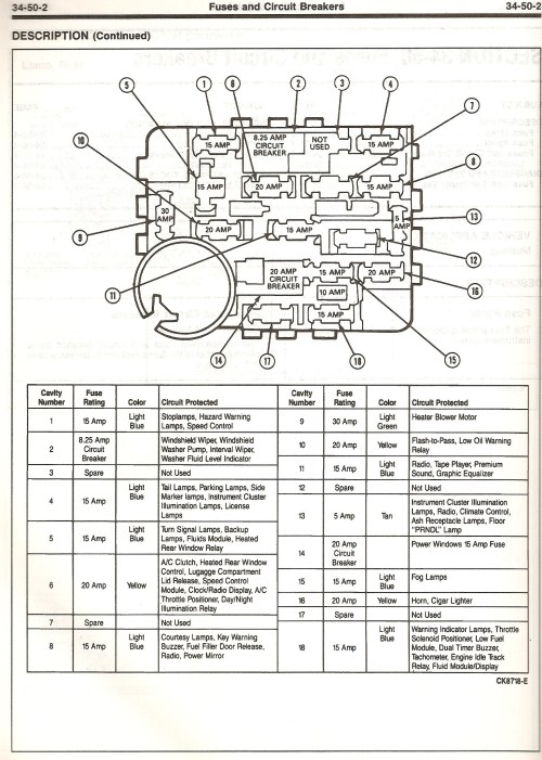 small resolution of 2006 mustang fuse diagram