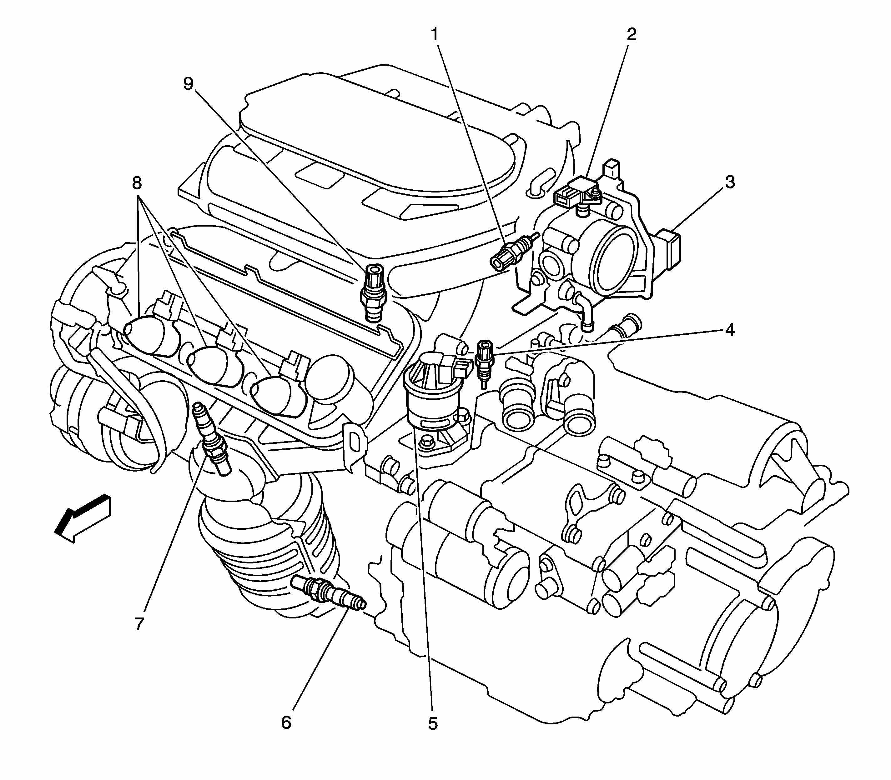 Daewoo Lano Engine Diagram
