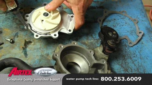 small resolution of 2004 mazda tribute engine diagram how to install a water pump mazda 3 0l wp 9035