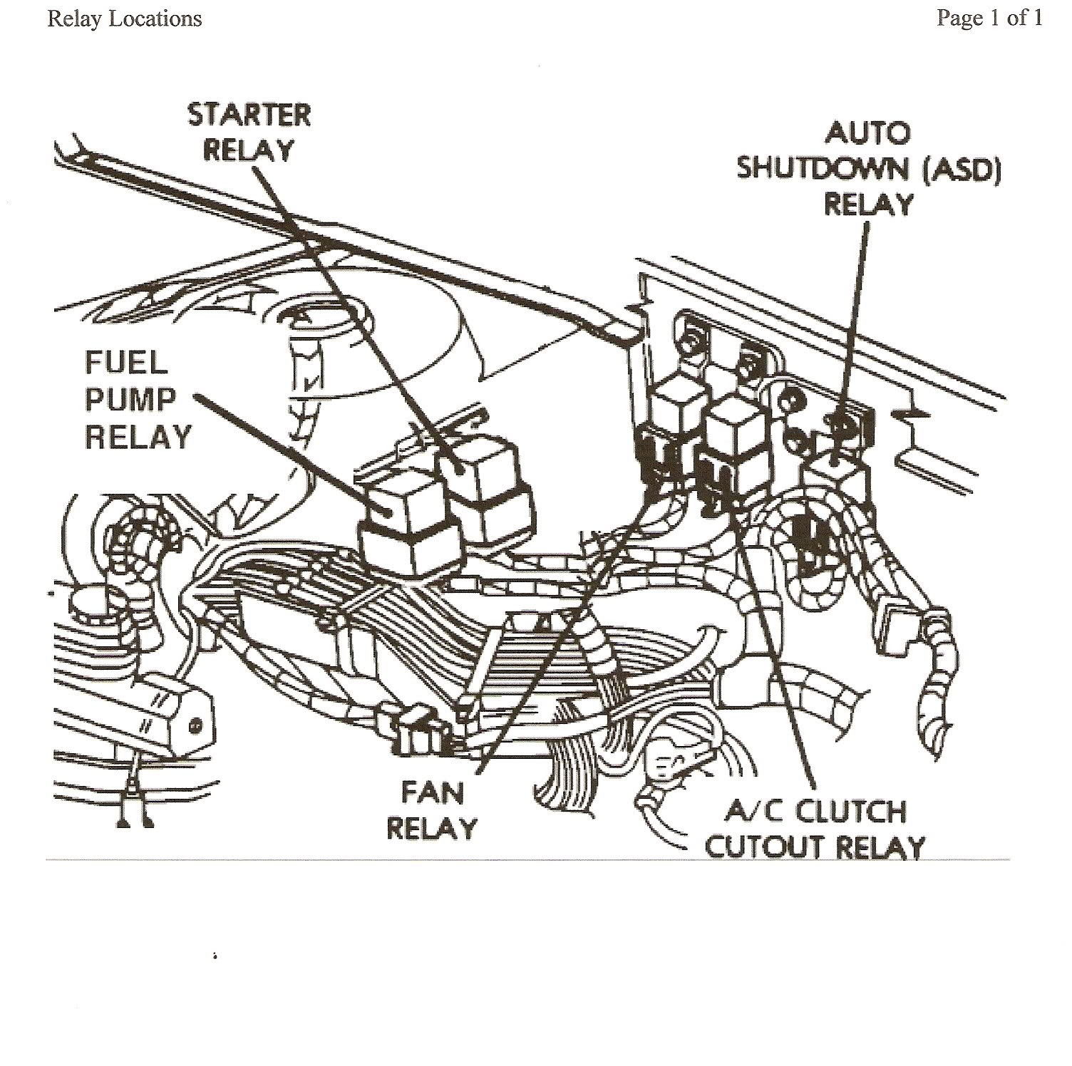 Chrysler Stereo Wiring Diagram Speaker