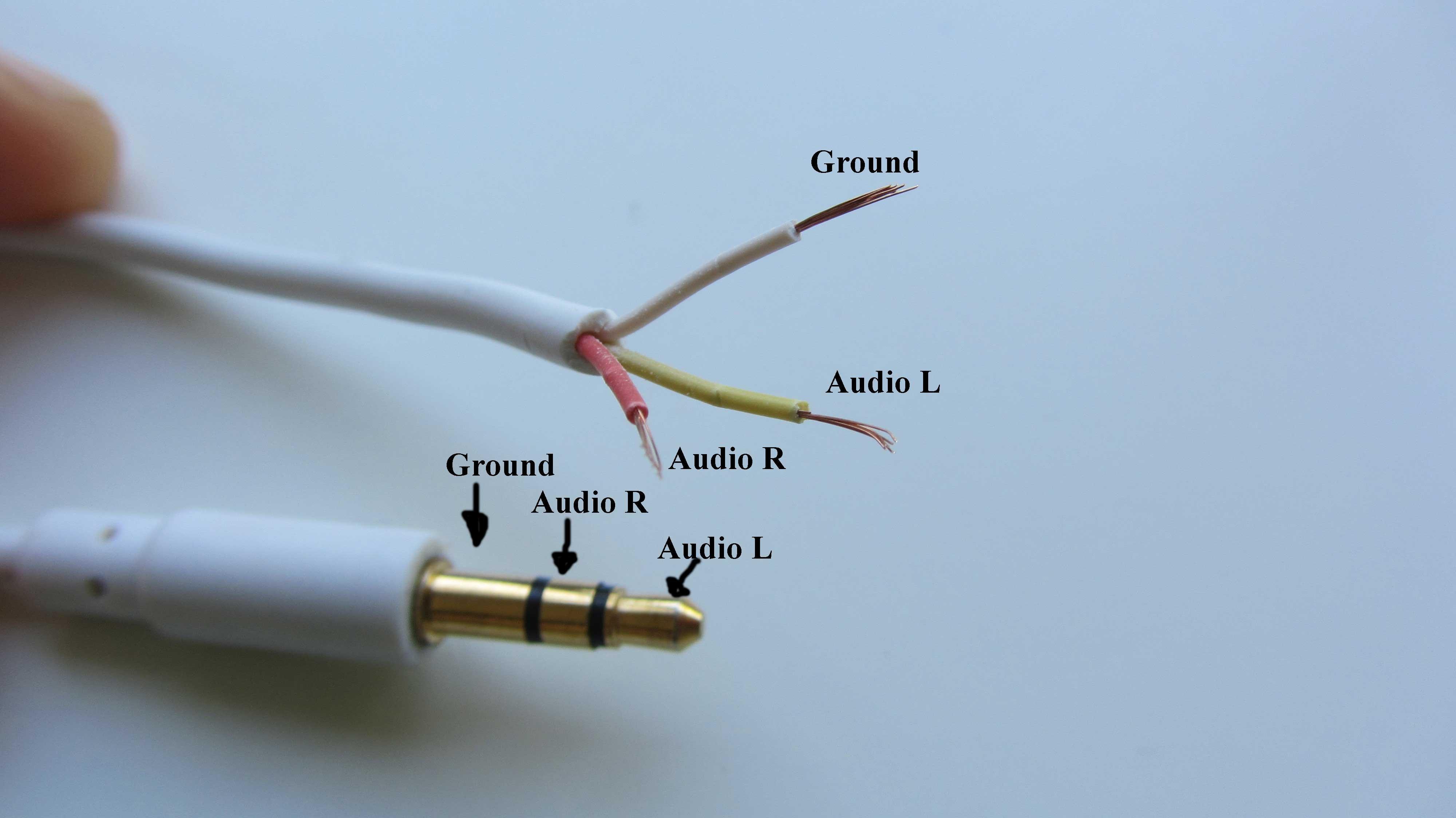 mono cable wiring diagram 1985 corvette fuel pump usb to rca connector manual e books 3 5mm jack schematic diagramjack slpice