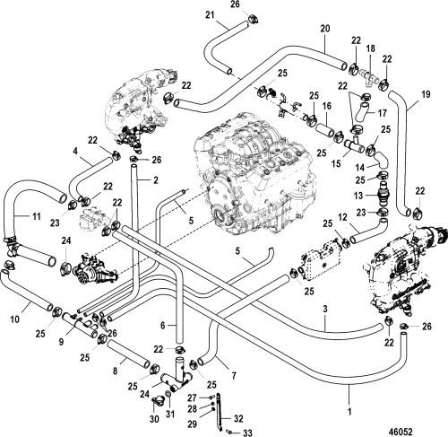 small resolution of 1986 mercruiser 4 3 engine wiring