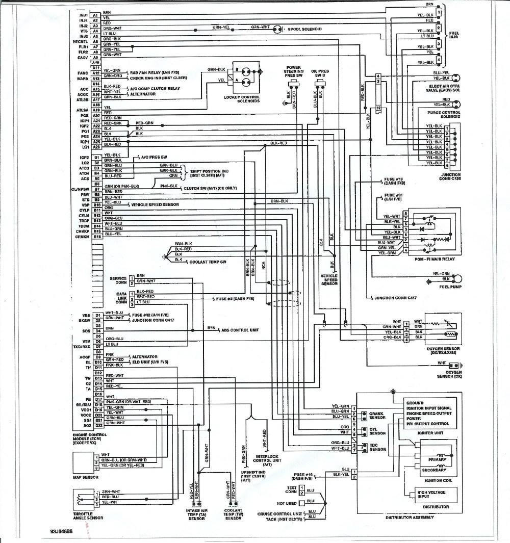 medium resolution of 1995 honda accord engine diagram
