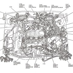 Ford Taurus Cooling System Diagram 96 Civic Headlight Wiring 2000 Tauru For 98 Engine Todays Lincoln Ls
