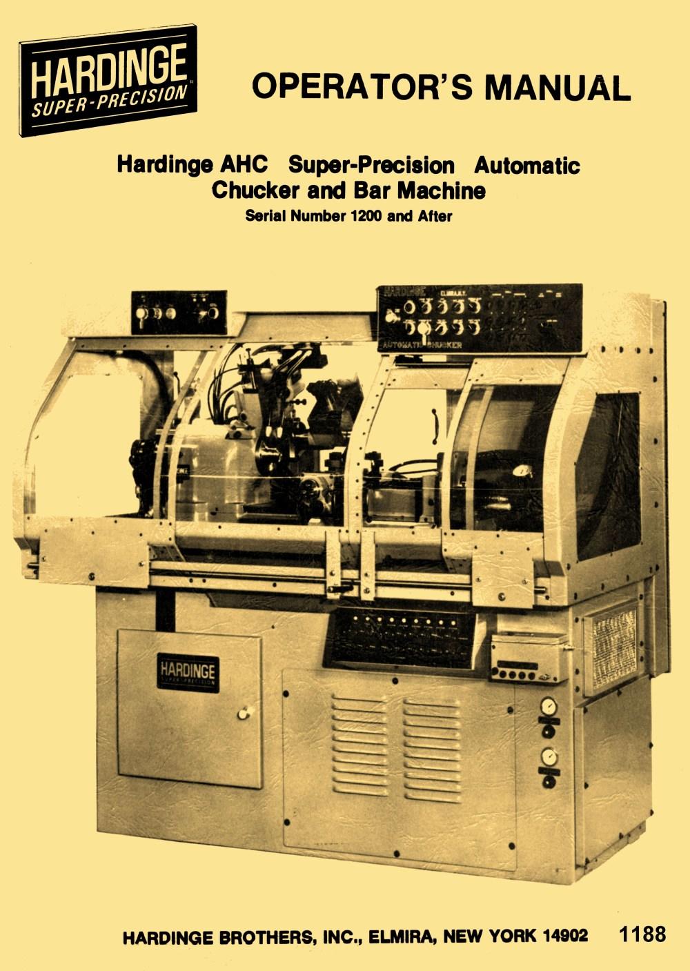 medium resolution of atlas lathe parts diagram hardinge ahc automatic chucking bar machine lathe operators manual of atlas