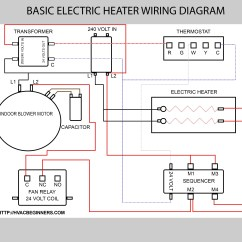 Air Conditioner Wiring Diagram Car Honeywell Thermostat Rth3100c Auto Aircon Basic Conditioning