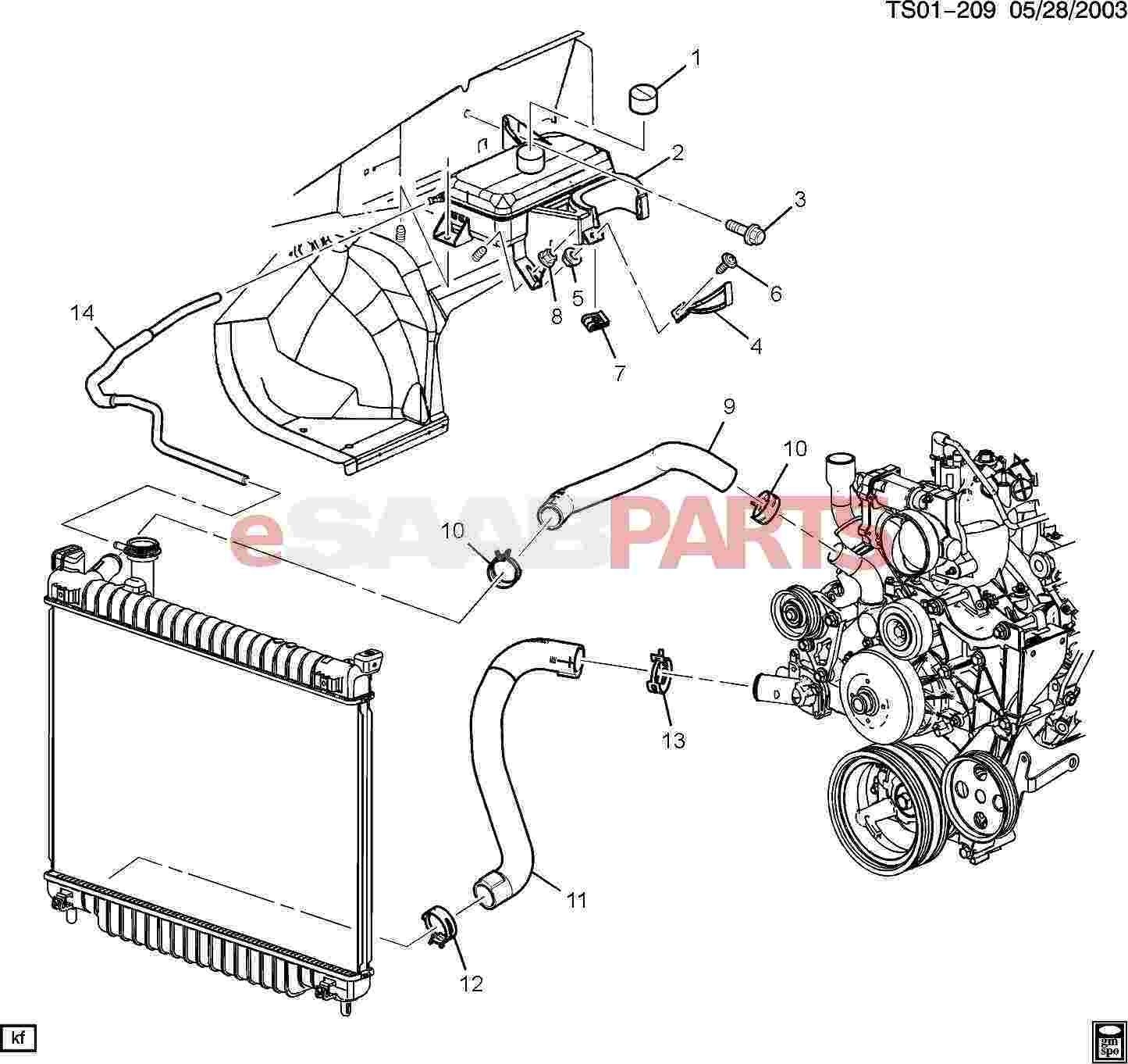 Automotive Cooling System Diagram